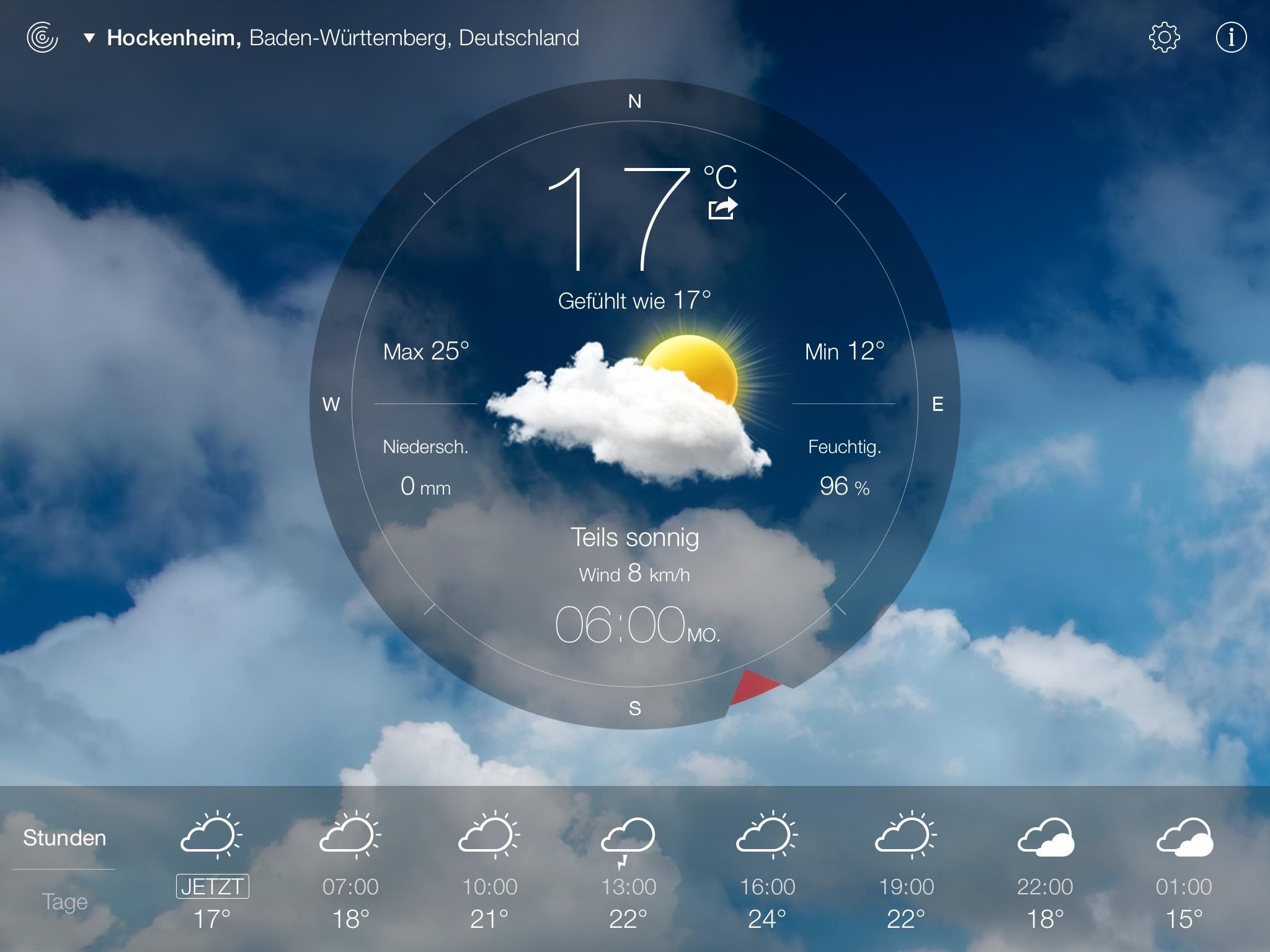 wetter-live-app