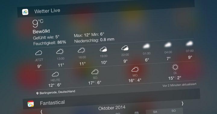 live wetter app