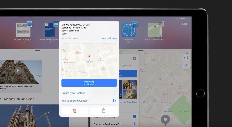 Video – iOS 11 Konzept für das iPad