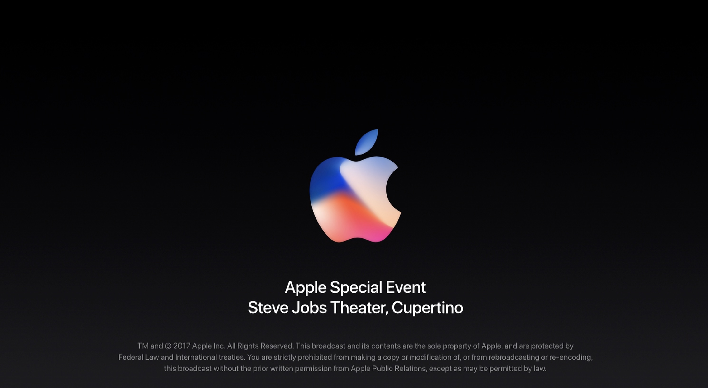 Video – Apple Special Event zum iPhone X