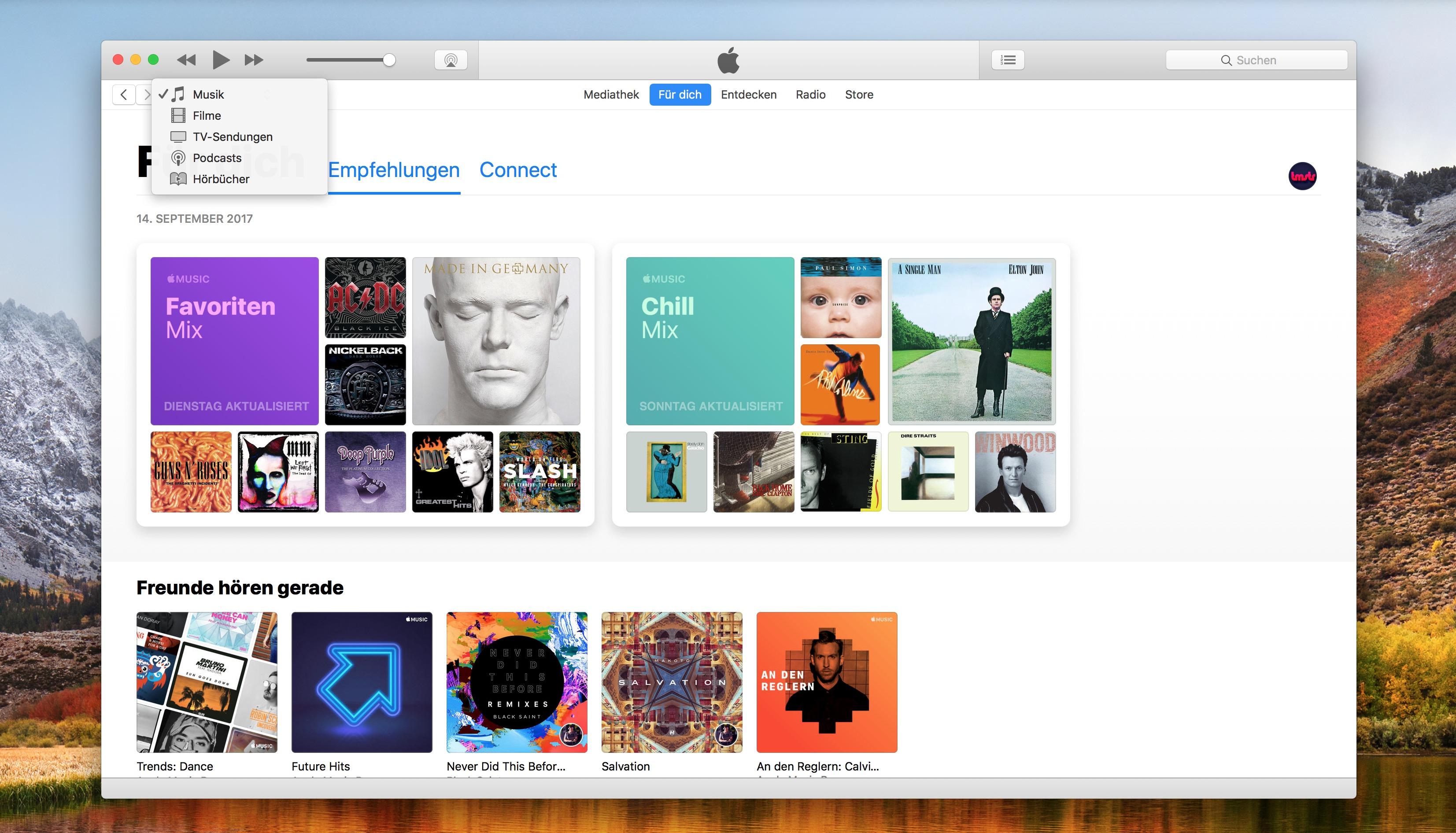 iTunes ab 12.7 ohne App Store und Klingeltöne