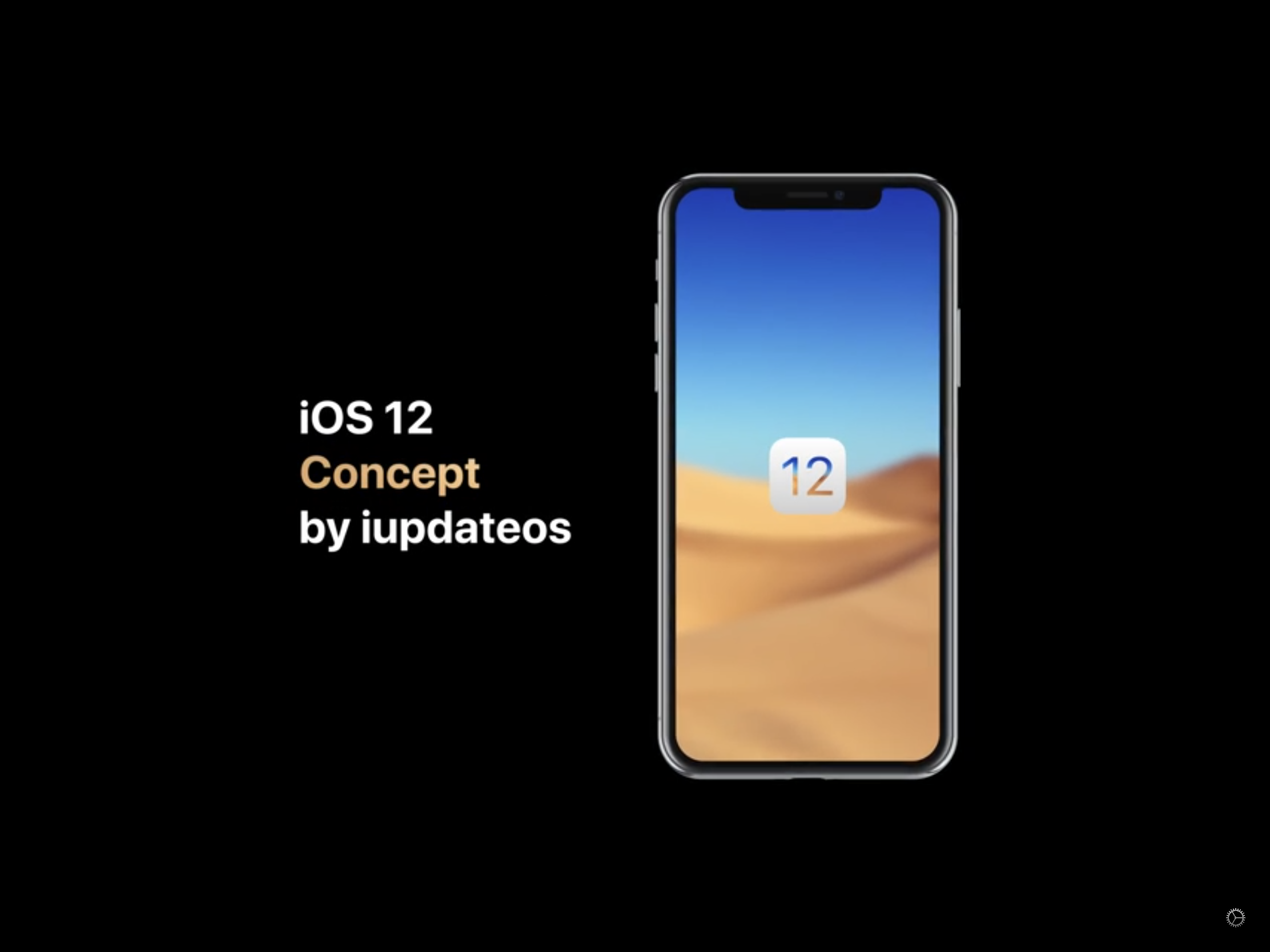 iOS 12 Konzept – Darkmode & Complications