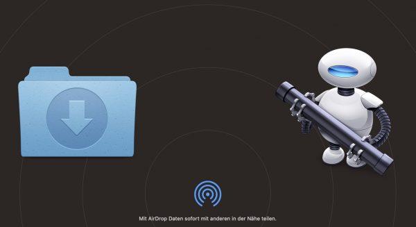 Download-Ordner in der iCloud – auch für AirDrop und Screenshots