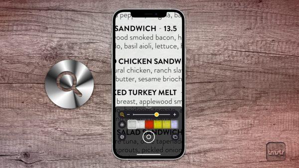 Die Lupenfunktion in iOS und iPadOS