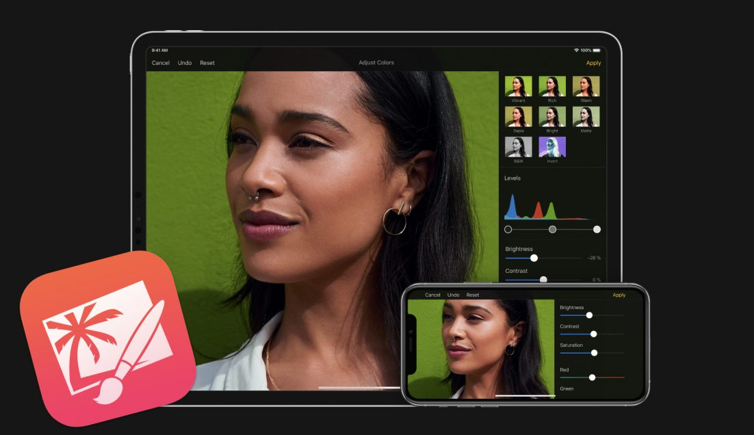 Pixelmator für iOS und iPadOS bekommt größeres Update