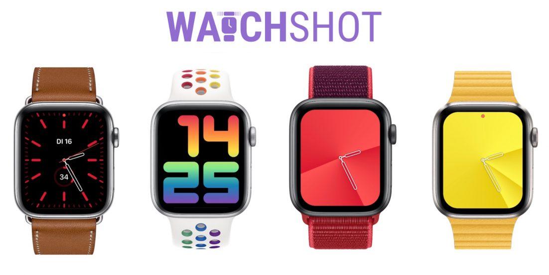 Schönere Apple Watch Screenshots mit Watchshot